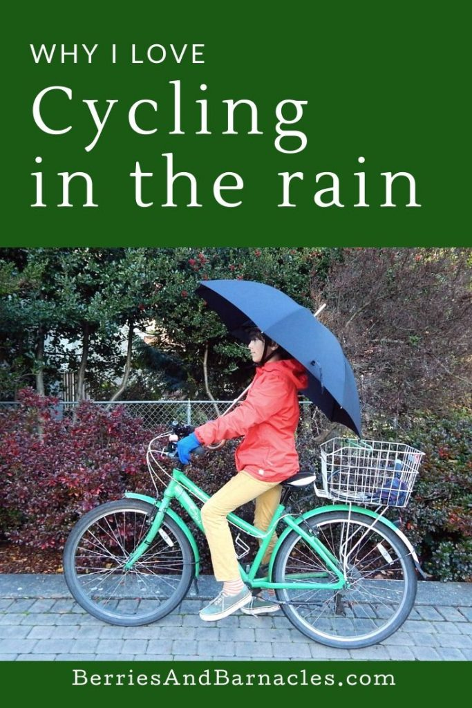 Cycling in the rain isn't just a chore, here are some of our favourite reasons to enjoy a rainy cycle ride