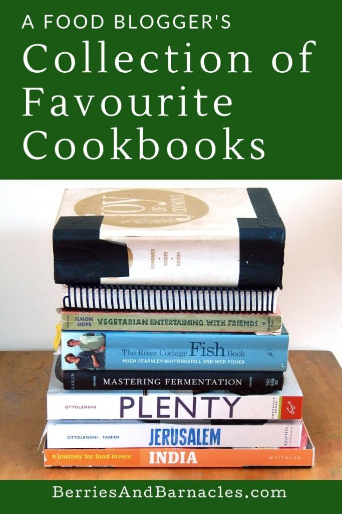 A foodie's collection of favourite cookbooks - reliable and delicious recipes