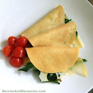 Socca is a chickpea flour crepe traditonally from the south of France