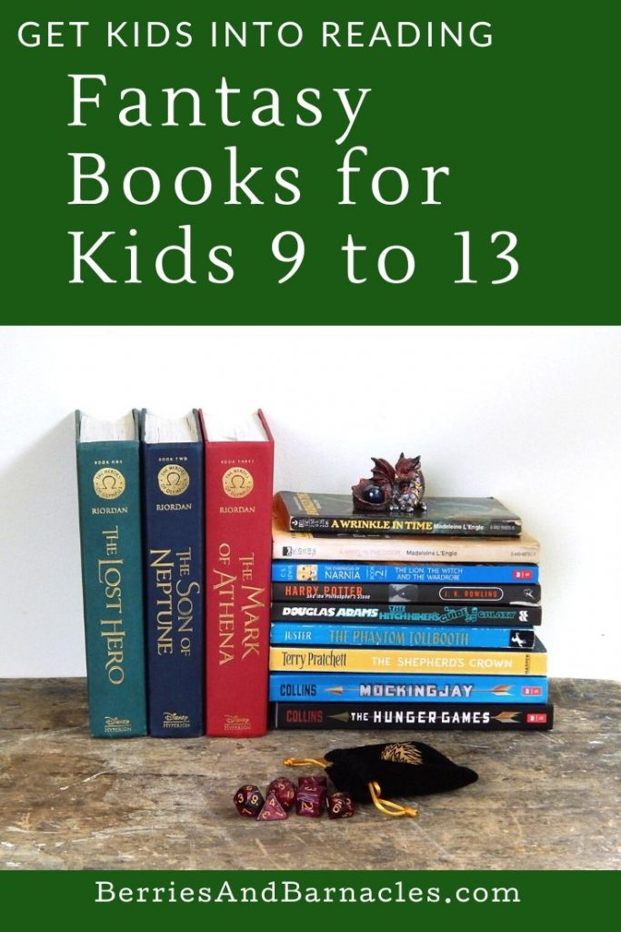 Here are some recommend books for kids age 9 to 13 years old.