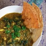 Delicious Indian spiced stinging nettle soup