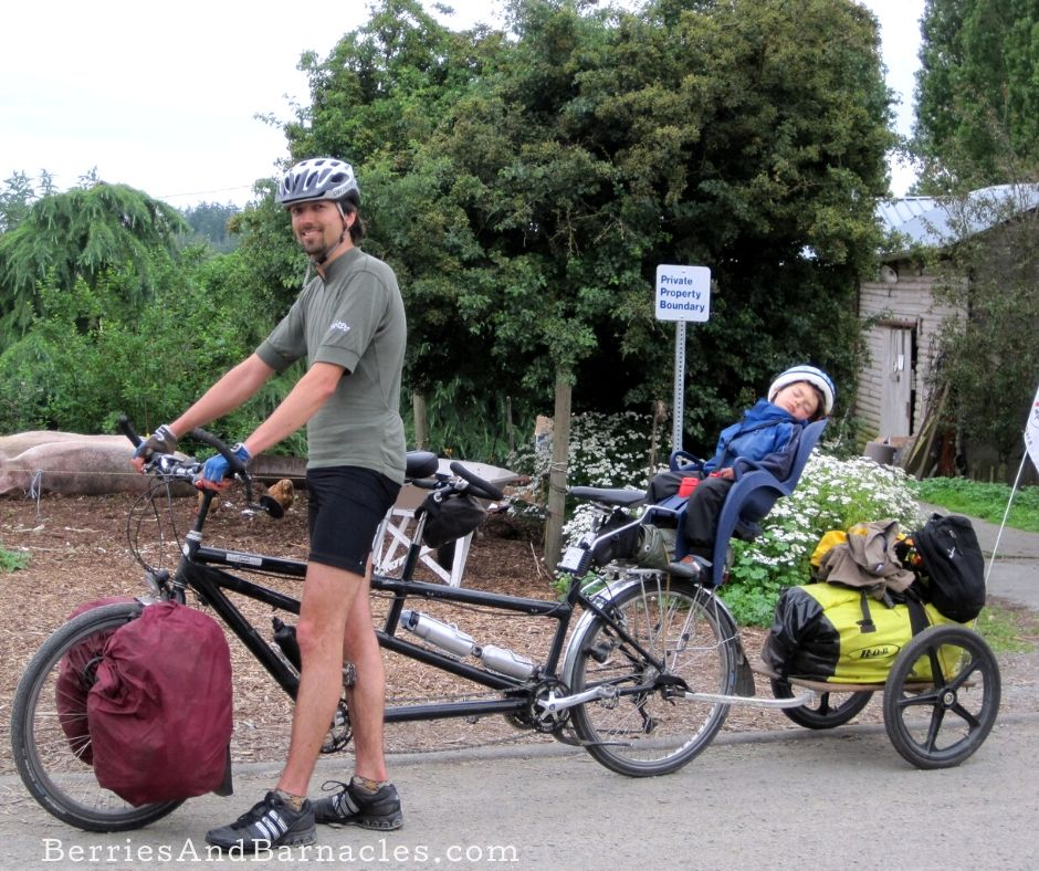 A how to guide for cycle camping with kids, toddlers, tweens and teens
