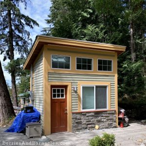 Here are 3 options for building your own shabin - shed + cabin.