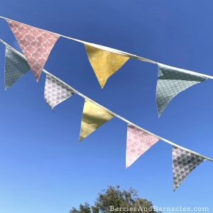 How to make homemade bunting for zero-waste celebrations