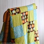 Easy and fun, baby quilts are the best gift