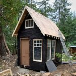 DIY options for a shed or shabin roof.