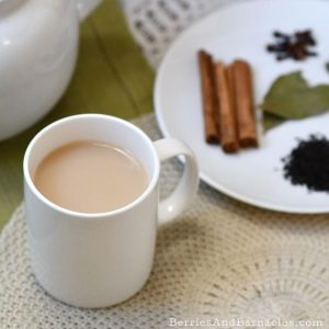 Spicy chai tea masala - perfect for warming up in winter