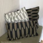 Homemade stuffable pillowcases, perfect for tiny homes